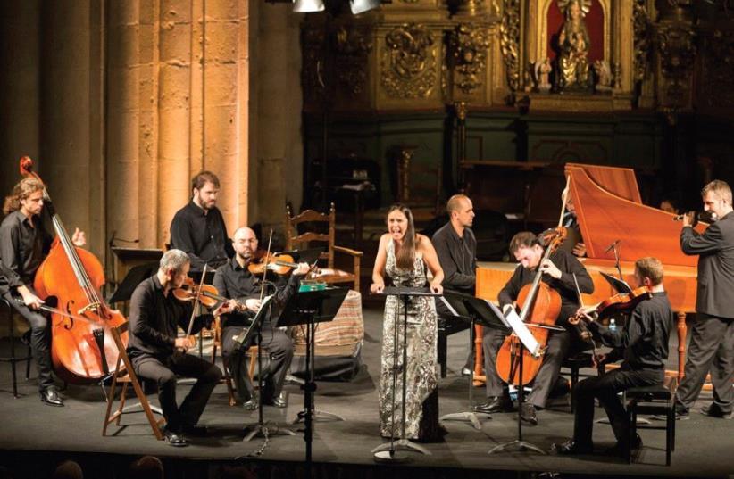 La Ritirata ensemble from Spain (photo credit: PR)