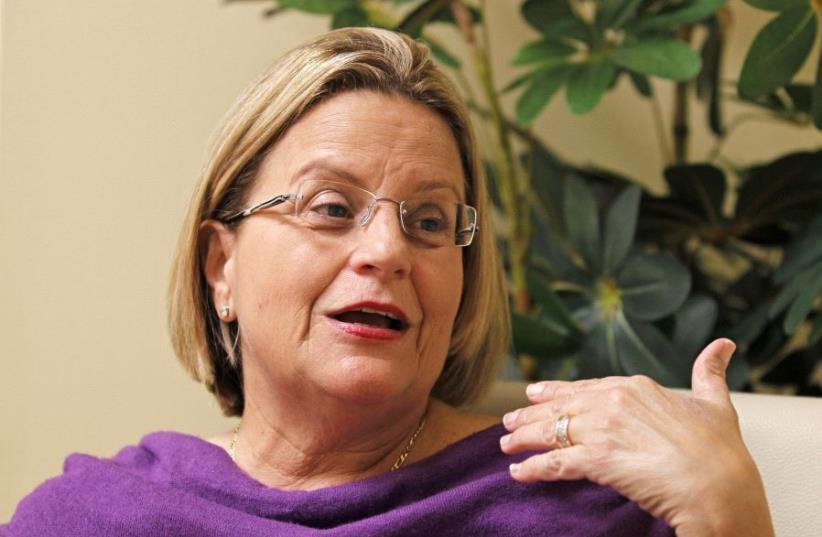 Retiring Congresswoman Ileana Ros-Lehtinen (photo credit: REUTERS)