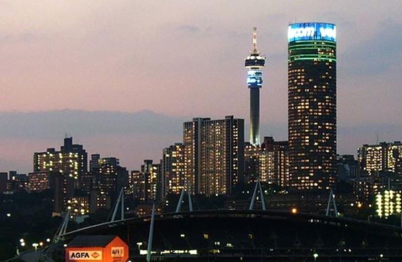 Johannesburg skyline (photo credit: WIKIMEDIA)
