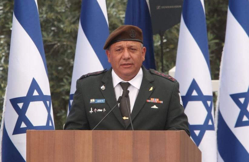 IDF Chief of Staff Gadi Eisenkot   (photo credit: MARC ISRAEL SELLEM)