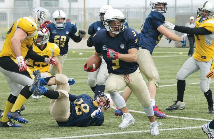 IFL players in action (photo credit: DANIELLA DOLGIN)