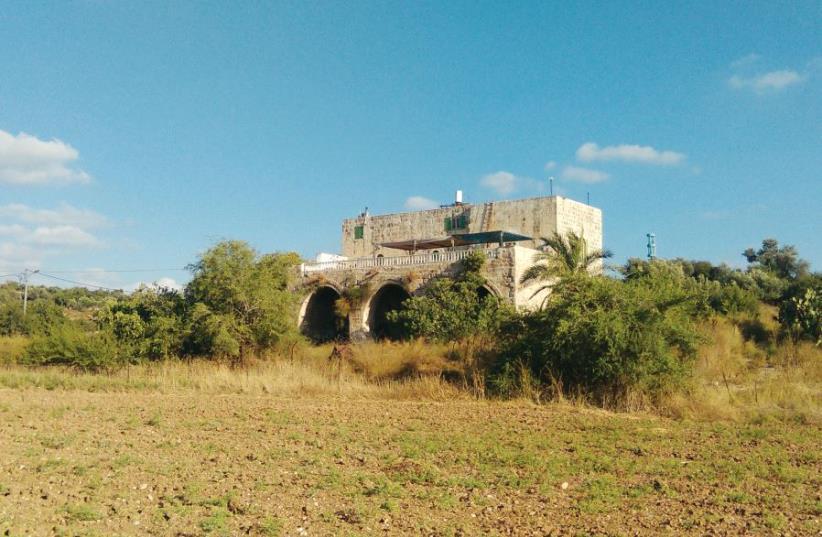 An Arab castle not far from the Jerusalem hills (photo credit: ARIEH O'SULLIVAN)
