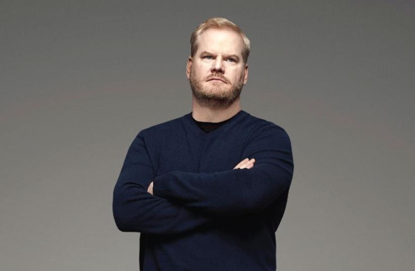 POPULAR AMERICAN stand-up comedian Jim Gaffigan (photo credit: Courtesy)