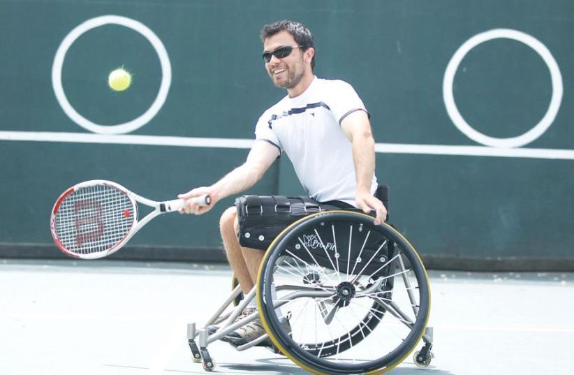 Paralympic gold medalist Noam Gershony. (photo credit: Courtesy)