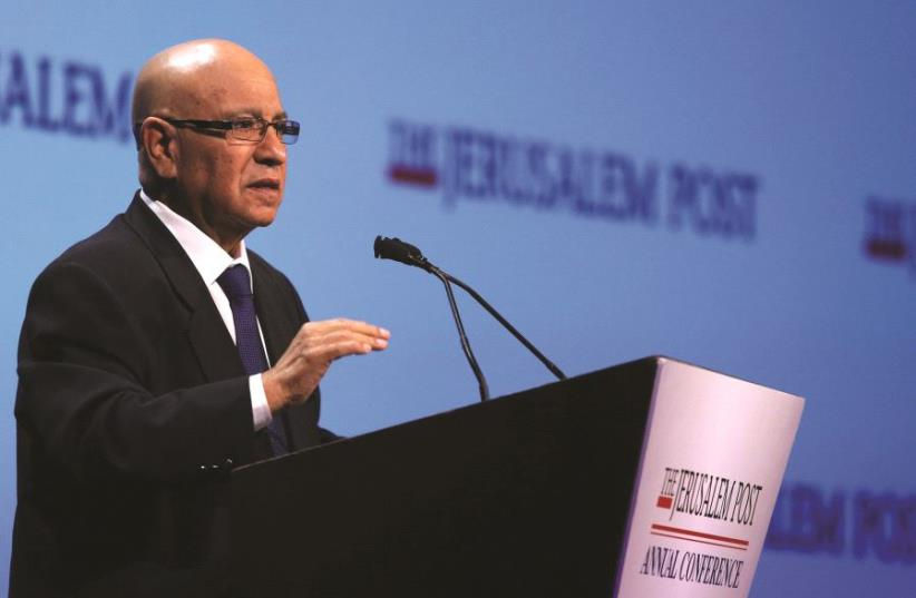 L'ancien directeur du Mossad, Meir Dagan (photo credit: DR)