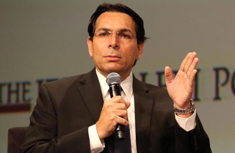 Danny Danon at the 2017 JPost Annual Conference (photo credit: SIVAN FARAG)
