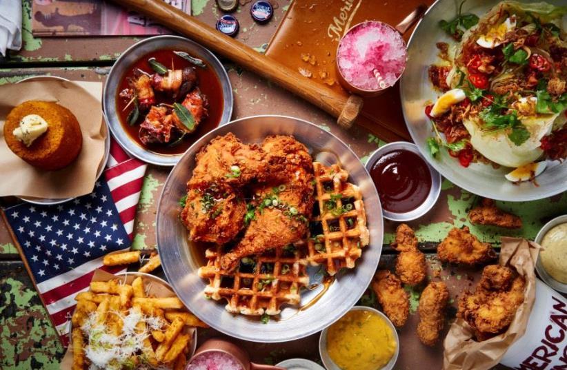 Tel Aviv restaurant and bar America (photo credit: BEN YUSTER)