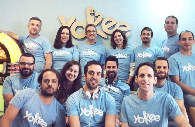 Yokee Music team (photo credit: SHAI DANAN)