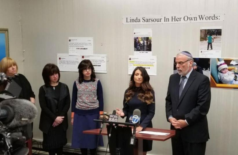 Assemblyman Hikind pushes back against Sarsour's supporters (photo credit: COURTESY OF DOV HIKIND'S OFFICE)