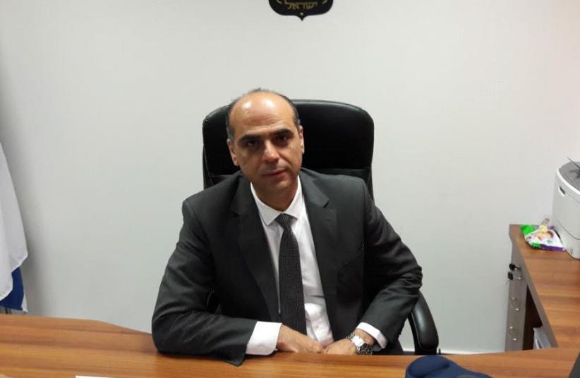 Iyad Zahalka, Shari'a courts national administrator, Jerusalem Shari'a Courts chief (photo credit: YONAH JEREMY BOB)