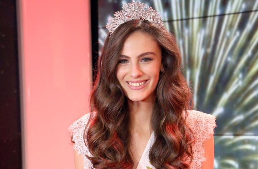 Miss Israel 2017 runner up Adar Gendelsman (photo credit: MOSHE SASSON/COURTESY 'LA-ISHA')