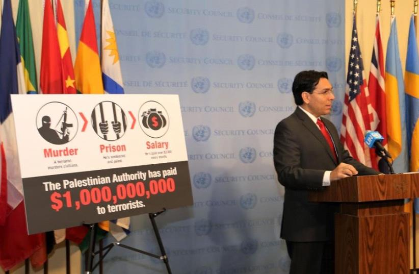 Israel's ambassador to the United Nations Danny Danon (photo credit: COURTESY OF THE ISRAELI MISSION AT UN)