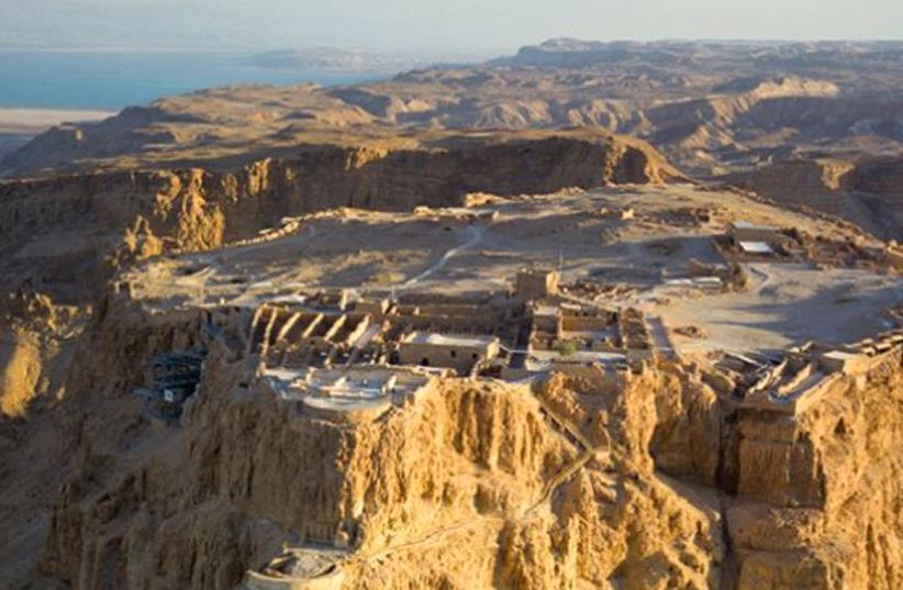 Masada (photo credit: ANDREW SHIVA / WIKIPEDIA)
