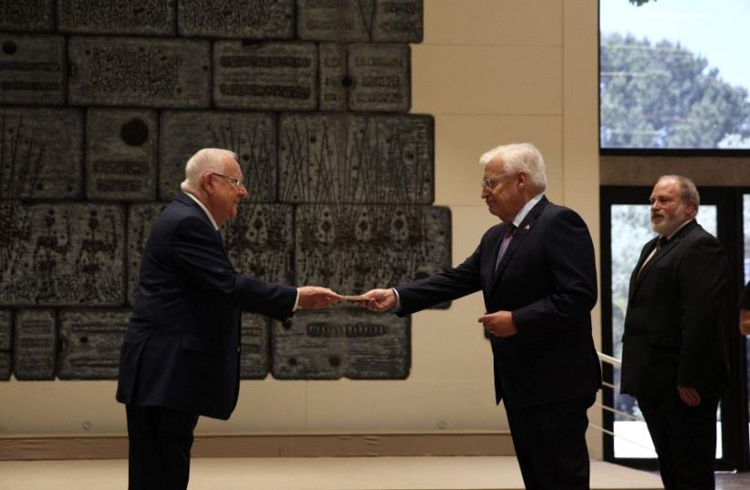 Friedman and Rivlin (photo credit: NOAM RIVKIN-PANTON)