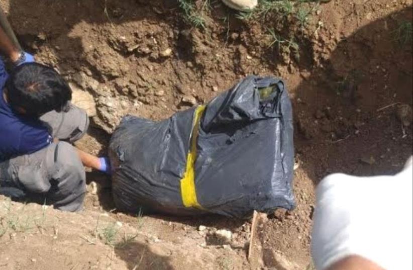 Murder scene in Jerusalem  (photo credit: ISRAEL POLICE)
