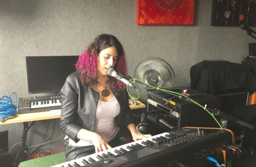 Israeli singer/pianist Moran Magal. (photo credit: ORIT ARFA)