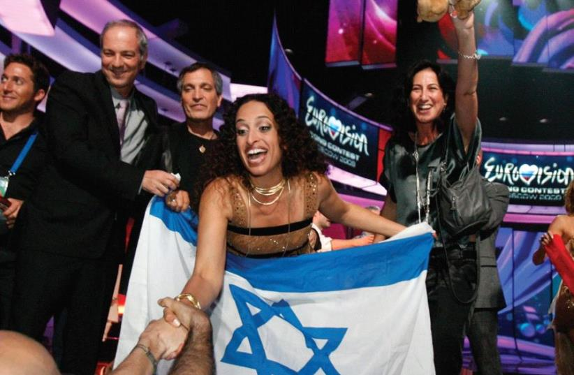 NOA REPRESENTED Israel, but she's too controversial for some American Jews. The author looks at poisonous discussions about Israel in the Diaspora (photo credit: REUTERS)