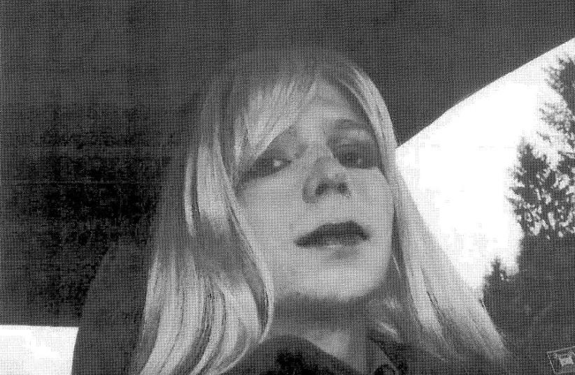 Chelsea Manning (photo credit: ARMY/HANDOUT VIA REUTERS)