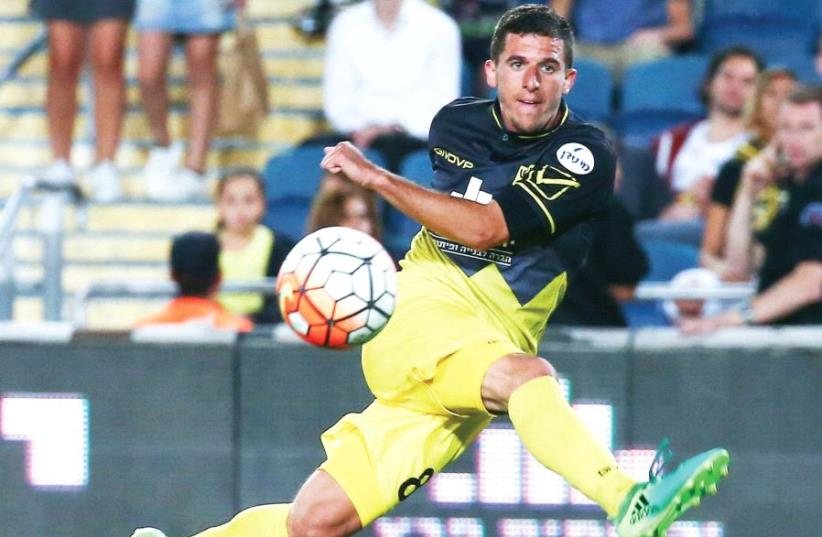 Beitar Jerusalem midfielder Idan Vered will look to end his impressive season on a high when the team visits Maccabi Tel Aviv in its final Premier League match on Saturday night (photo credit: DANNY MARON)