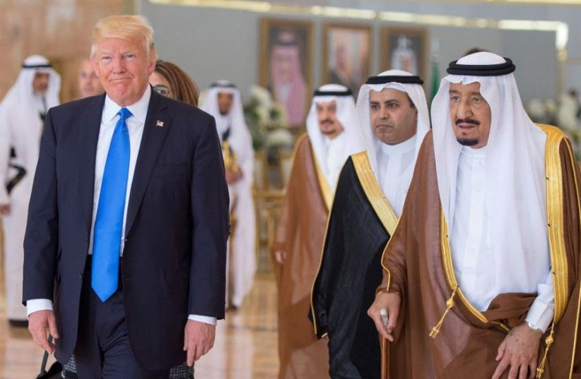 Saudi Arabia, Egypt, Qatar, UAE welcome Trump peace plan - The Jerusalem Post