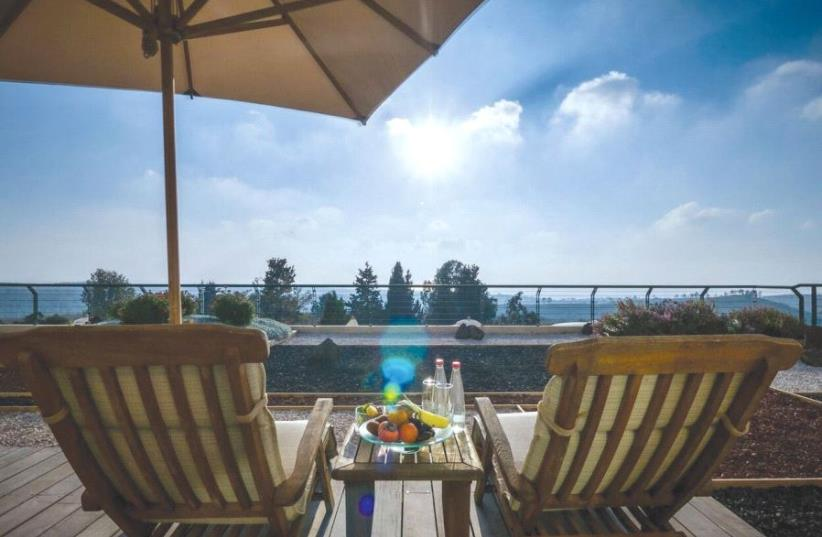 THE CARMEL FOREST Spa and Resort – far removed from the hustle and bustle. (photo credit: Courtesy)