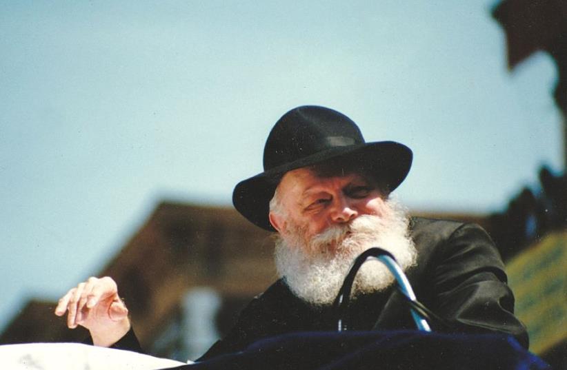 Rabbi Menachem Mendel Schneerson (photo credit: Wikimedia Commons)