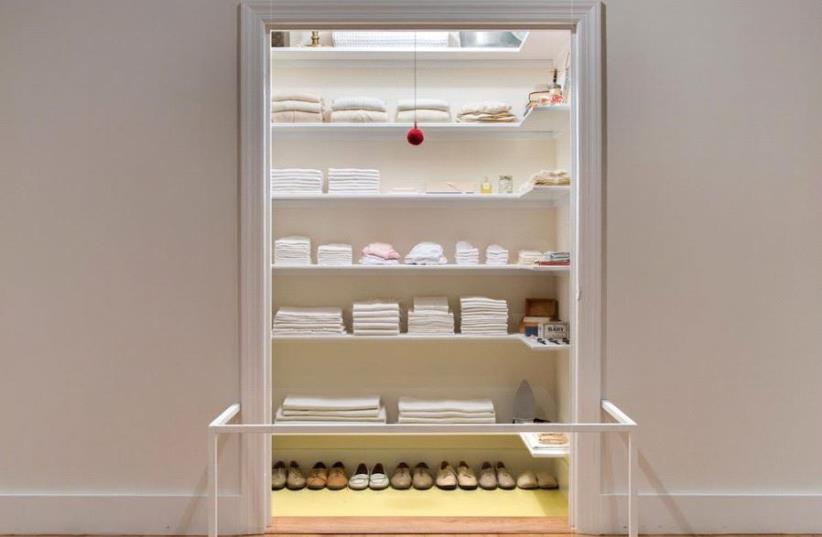 Sara Berman's closet. (photo credit: RICK MEYEROWITZ)