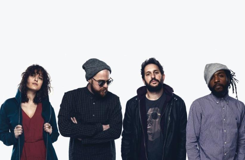 'THERE ARE so many great musicians in that Israel we borrow inspiration from – old, new, dead, alive... we try to embed our local influences into every aspect of our music,' says Lucille Crew founder Izzy Dotan (second from right) seen here with other members of the band. (photo credit: GAYA)