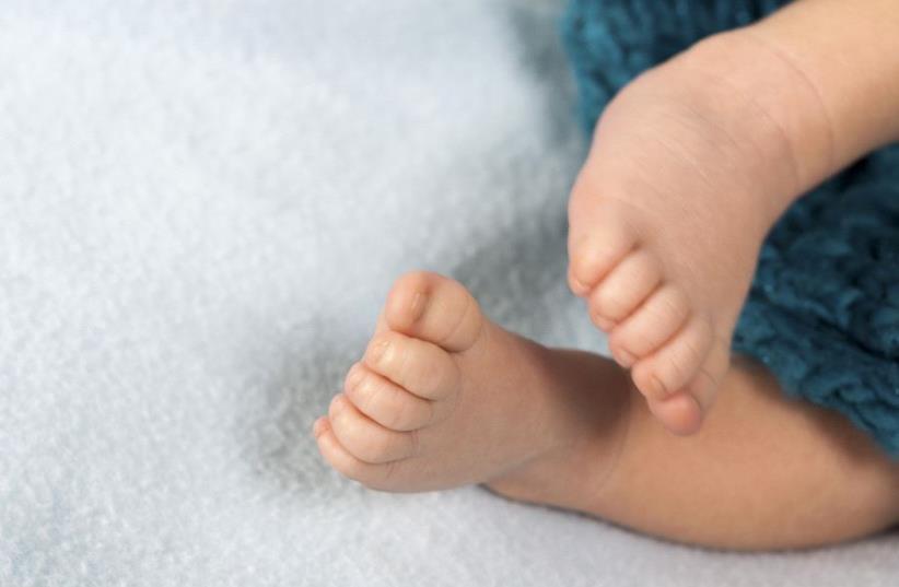 A baby (illustrative) (photo credit: INGIMAGE)
