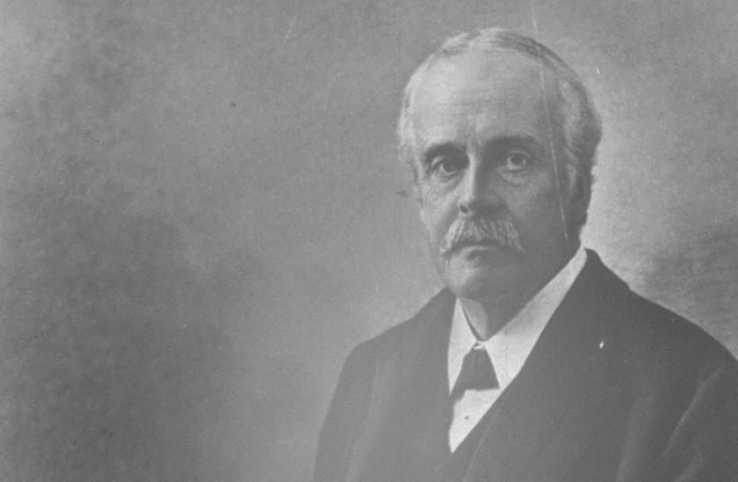 British foreign secretary Arthur James Balfour (photo credit: GPO)