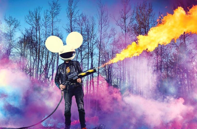 MASKED EDM hitmaker and celebrity DJ Deadmau5 (photo credit: Courtesy)