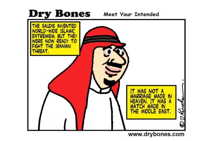 Dry Bones Cartoon June 7, 2017 (photo credit: YAAKOV (DRYBONES) KIRSCHEN)