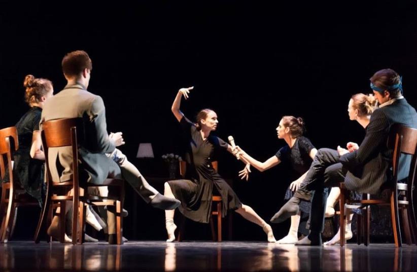 The Israel Ballet's performance of 'Piaf' (photo credit: IRA TASHLITSKY)