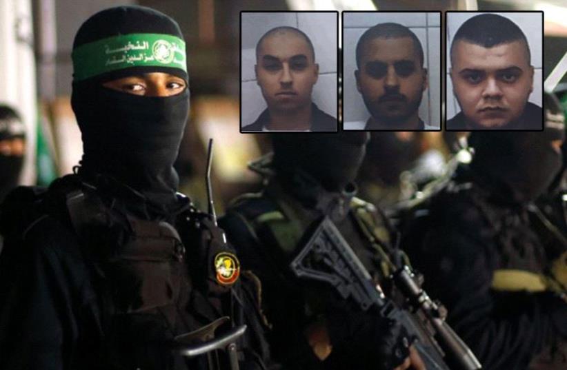 Arab Israelis charged in Hamas plot to assassinate IDF officer in revenge for killing of senior operative Mazen Fuqaha (photo credit: REUTERS,SHIN BET)