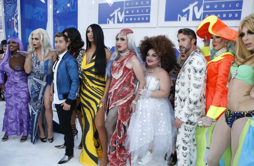 RuPaul's Drag Race (photo credit: REUTERS)
