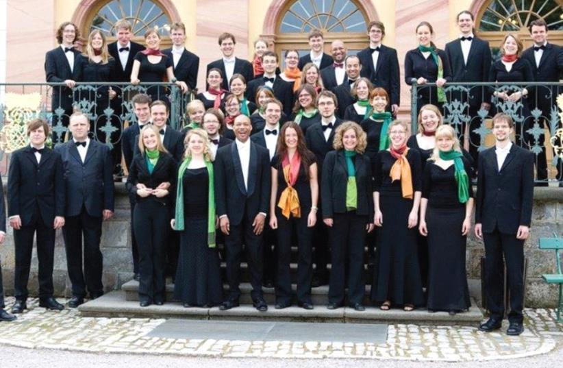 FRANZ LISZT University Choir of Weimar (photo credit: GUIDO WERNER)