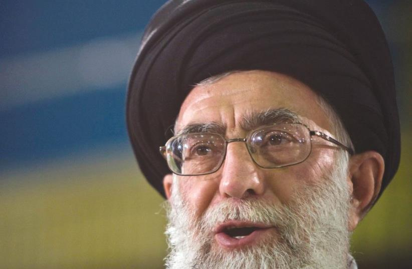 IRAN'S SUPREME LEADER Ayatollah Ali Khamenei. The West needs to be careful not to let Iran gain from the crisis with Qatar (photo credit: REUTERS)