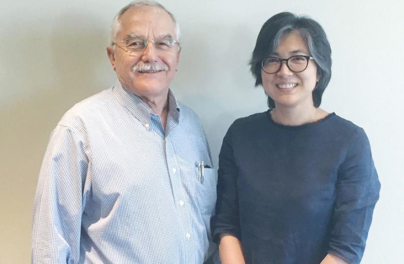CATALYST CEL Fund managing partners Shengyan Fan and Yair Shamir (photo credit: MITTI CHAYON)
