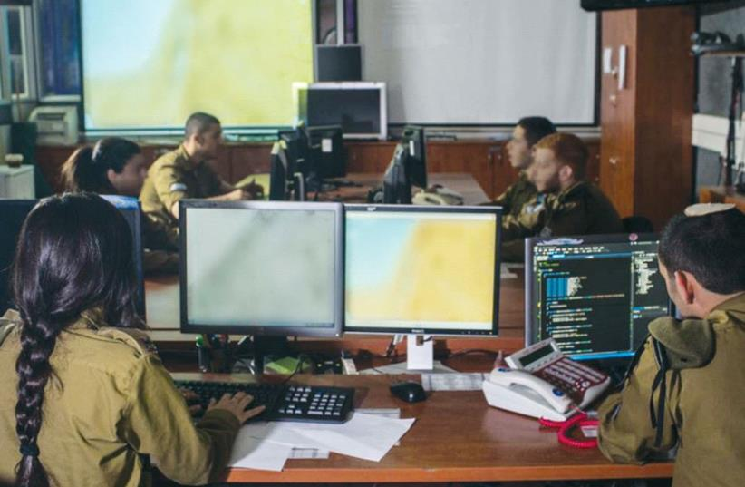 IDF computing school (photo credit: IDF SPOKESMAN'S UNIT)