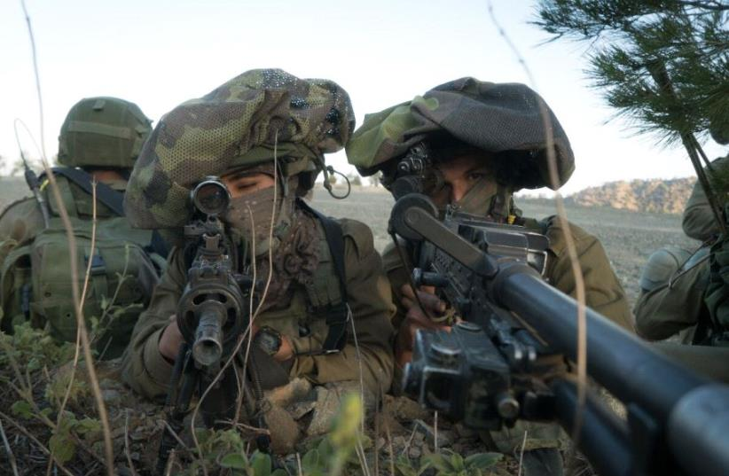 Israeli commandos during a large scale drill in Cyprus, June 2017 (photo credit: IDF SPOKESPERSON'S UNIT)