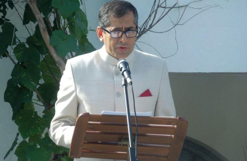 INDIA'S AMBASSADOR to Israel, Pavan Kapoor. (photo credit: Courtesy)