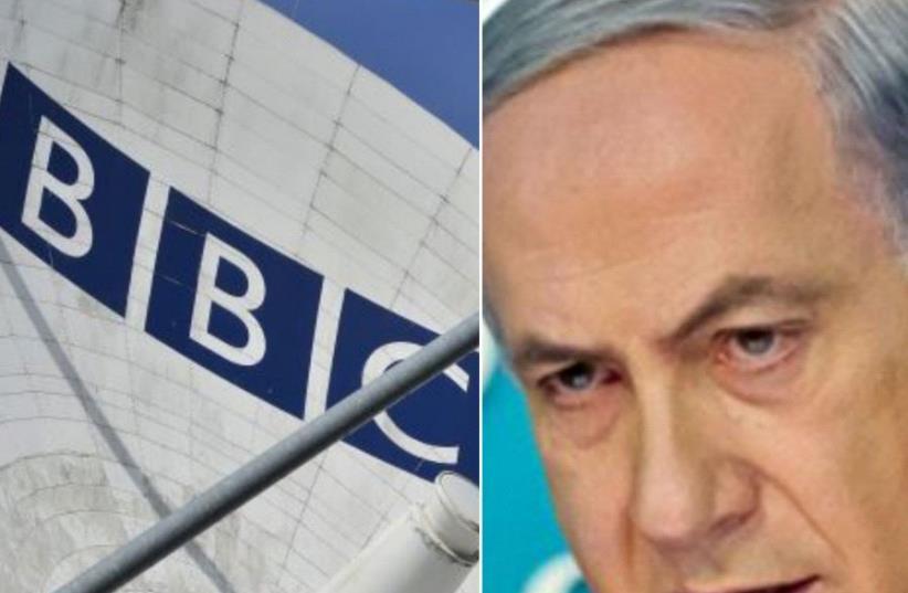Benjamin Netanyahu/BBC (photo credit: REUTERS)