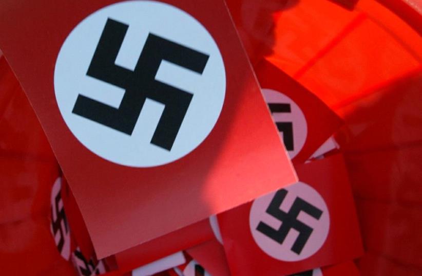 Nazi Swastika (photo credit: REUTERS)