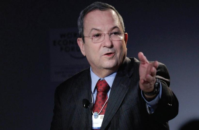 FORMER PRIME MINISTER Ehud Barak in 2013 (photo credit: REUTERS)