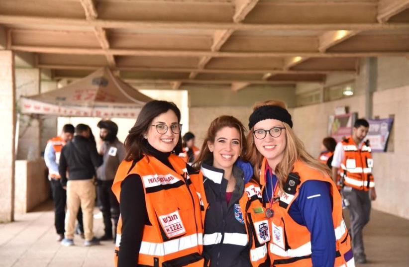 Members of the United Hatzalah Women's Unit (photo credit: COURTESY UNITED HATZALAH)