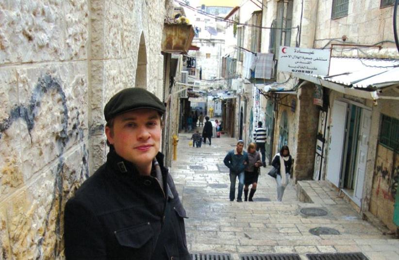 The writer in Jerusalem (photo credit: COURTESY TERRANCE MINTNER)
