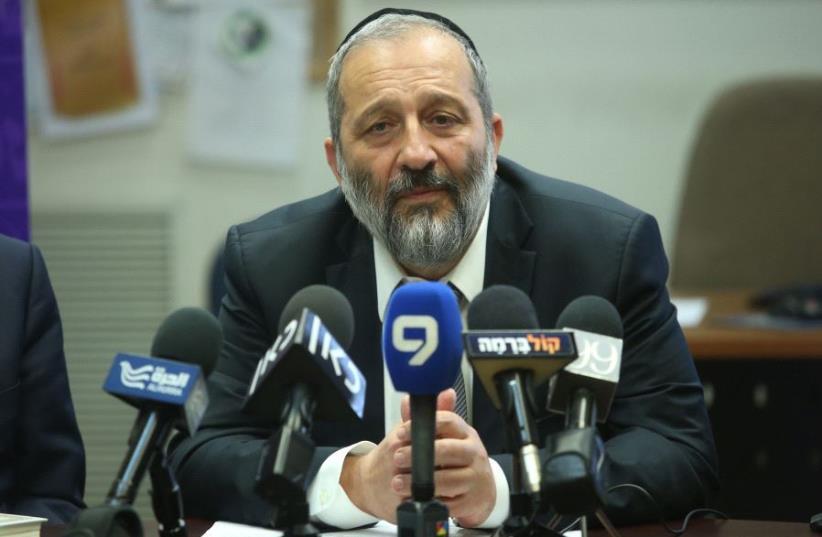 Aryeh Deri (photo credit: MARC ISRAEL SELLEM)