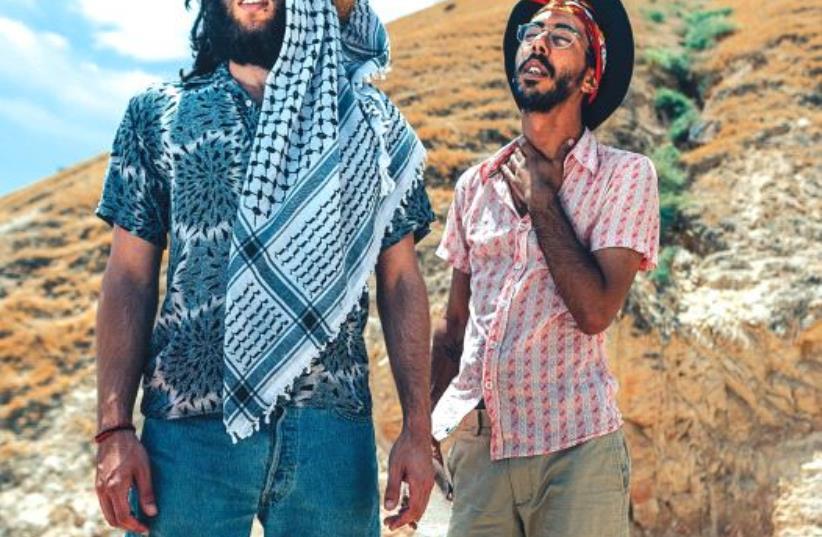 Hilal Jabareen (left) and and Ohad Hadad (photo credit: OMER KAHALON)