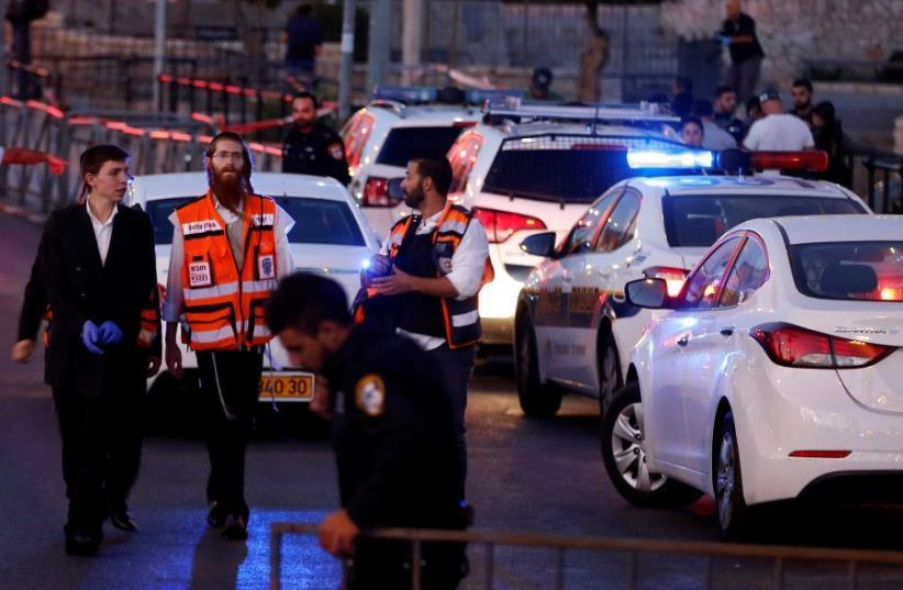 Israeli police (photo credit: REUTERS)