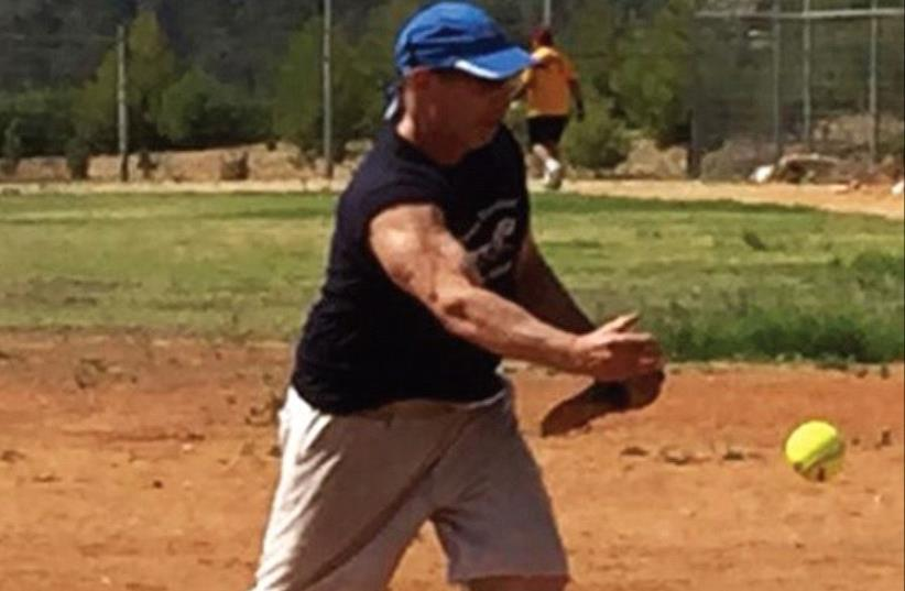 DANNY GEWIRTZ fell a game short of winning the title in the final pitching performance of his celebrated 29-year softball career. (photo credit: Courtesy)